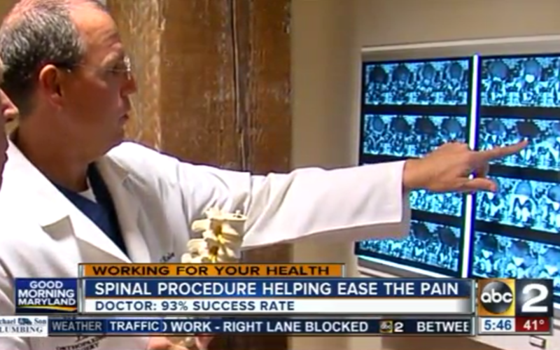 Working for Your Health: The benefits of minimally invasive spine surgery<br>