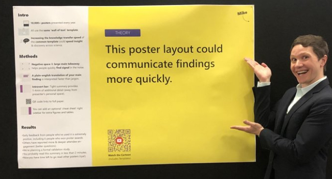 To Save The Science Poster, Researchers Want To Kill It And Start Over