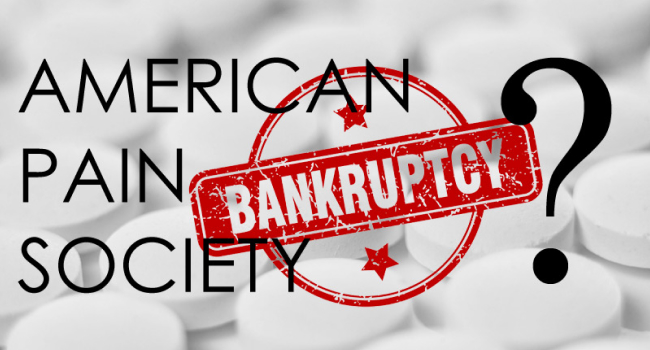 American Pain Society Likely to File for Bankruptcy